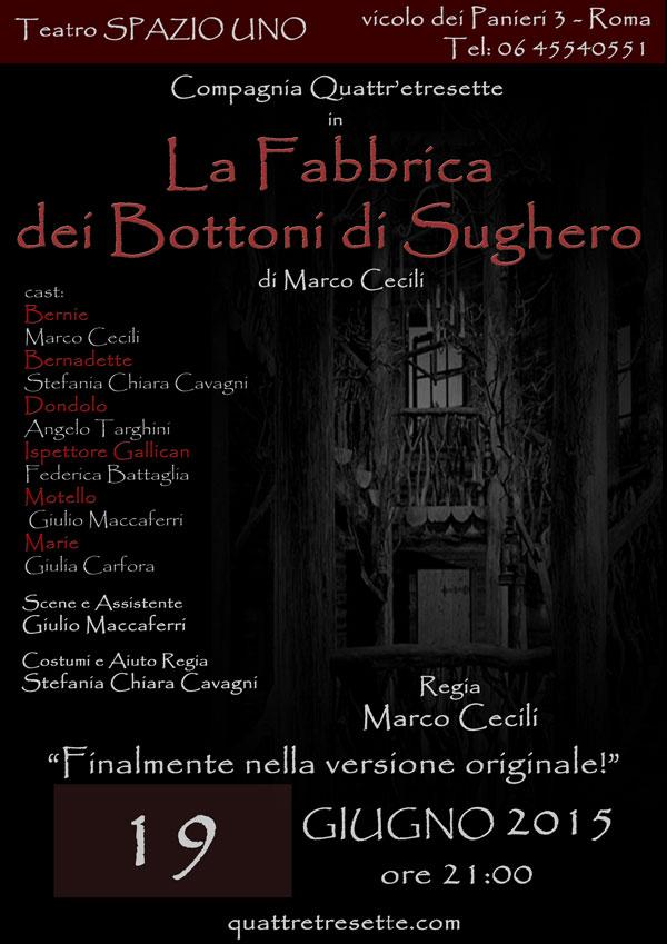 Coming soon: 19 giugno in scena al Teatro Spazio Uno diRoma